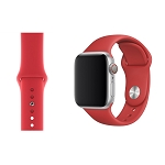 iWatch 42mm to 44mm Wrist Band Red