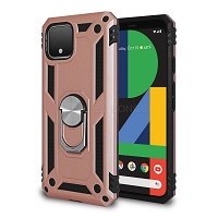 Google Pixel 4 New Hybrid Case With Ring Rose Gold