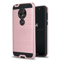 Motorola Moto G7 Play Hybrid Case Rose Gold