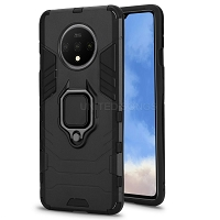 OnePlus 7T New Hybrid Case With Ring Black