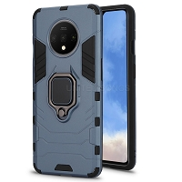 OnePlus 7T New Hybrid Case With Ring Blue