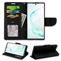Samsung Galaxy Note 10 Wallet Case Black