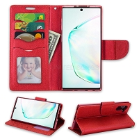 Samsung Galaxy Note 10 Wallet Case Red