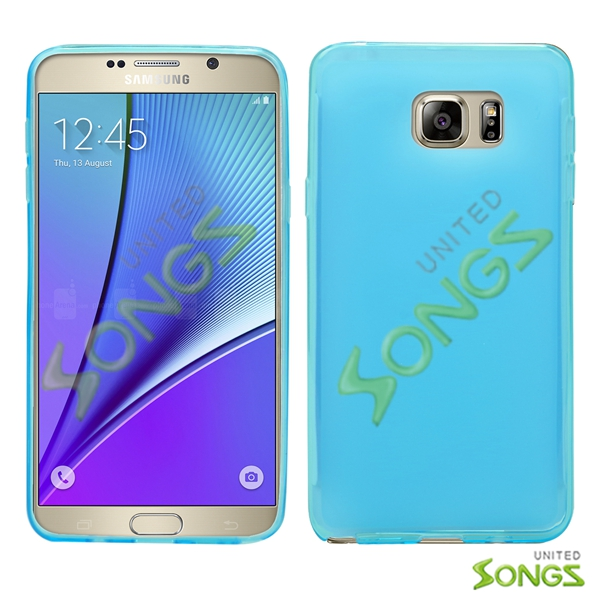 Samsung Galaxy Note 5 TPU (Gel) Case Blue