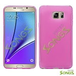 Samsung Galaxy Note 5 TPU (Gel) Case Pink