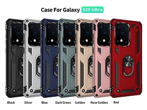 Samsung Galaxy S20 Ultra New RHD6 Hybrid Case With Ring