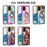Samsung Galaxy S20 New LQRG Liquid Glitter Dual Color Case
