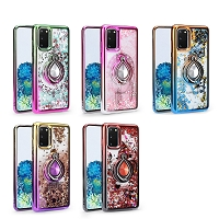 Samsung Galaxy Note 20 Ultra 5G New LQRG Liquid Glitter Dual Color Case