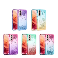 Samsung Galaxy A42 5G New LQD Liquid Case With Glitter