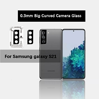 Samsung Galaxy S21 5G New Curved Camera Lens Protector Black