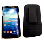 Samsung Galaxy S4 Hybrid Combo Holster Case Black