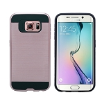 Samsung Galaxy S6 Edge Hybrid Case Rose Gold
