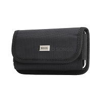 Newly Design 4.7-5.3 inch Heavy Duty Case Horizontal Fabric Pouch
