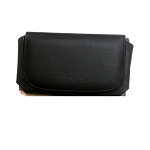 Leather Horizontal Style Pouch For Cell Phone With Heavy Duty Case Up to 4.7 inch