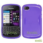 BlackBerry Q10 TPU/Gel Case Purple