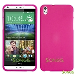 HTC DESIRE 816 710c TPU(Gel) Case Hard Pink