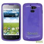 Huawei Premia 4G M931 TPU(Gel) Case Purple