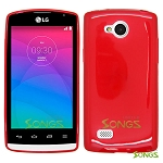 LG Joy H220 TPU(Gel) Case Red