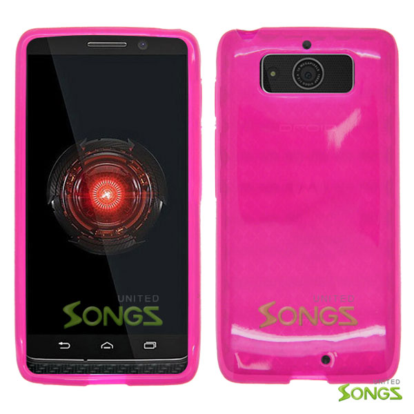 Motorola DROID Mini XT1030 TPU(Gel) Case Pink