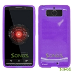 Motorola DROID Mini XT1030 TPU(Gel) Case Purple