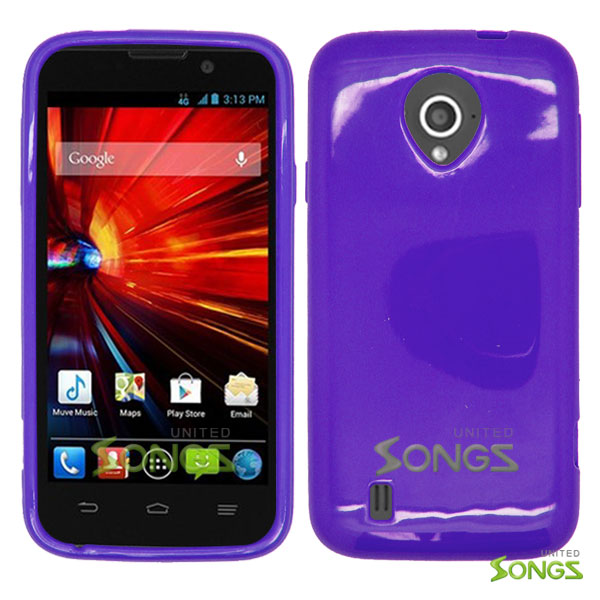 ZTE Source N9511 TPU(Gel) Case Purple