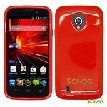 ZTE Source N9511 TPU(Gel) Case Red