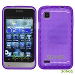 ZTE V788 Illustra TPU(Gel) Case Purple