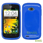 ZTE Savvy Z750C TPU(Gel) Case Blue
