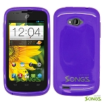 ZTE Savvy Z750C TPU(Gel) Case Purple