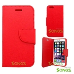 iPhone 6S Plus/6 Plus Wallet Case Red