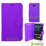 Motorola Turbo/XT1254 Wallet Case Purple