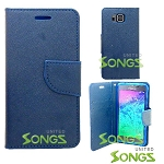 Samsung Galaxy Alpha G850 Wallet Case Blue