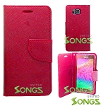 Samsung Galaxy Alpha G850 Wallet Case Red