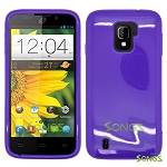 ZTE Majesty Z796C TPU(Gel) Case Purple