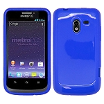 ZTE N9120 Avid 4G TPU/Gel Case Blue