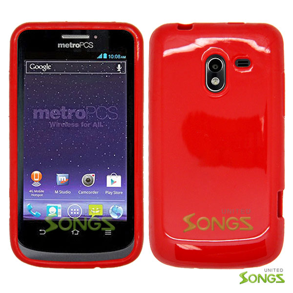 ZTE N9120 Avid 4G TPU/Gel Case Red