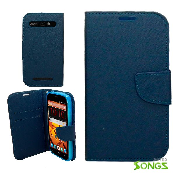 ZTE  Warp Sync/N9515 Wallet Case Blue